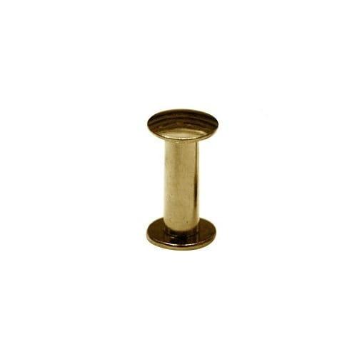Nity skręcane Śrubka 15mm Złoty